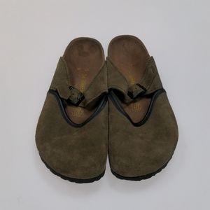 Birkenstock Green Clogs Size 34